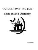 October Creative Writing FUN!