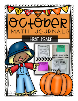 October Critical Thinking and Story Problem Math Journals