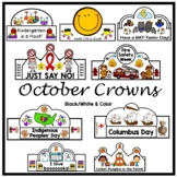 October Crowns (Red Ribbon, Ghosts, Columbus/Indigenous Pe