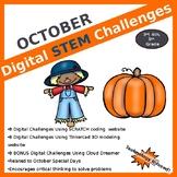 October DIGITAL STEM Challenges