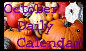 October Daily Calendar 2013  Promethean Flipchart
