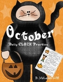 October Daily Cloze Practice