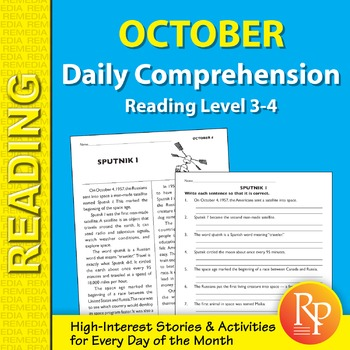 October: Daily Comprehension