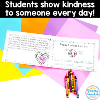 October Daily Journal: 31 Days of Kindness: Print, Cut, Go!