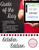 October Journal Prompts for Google Drive