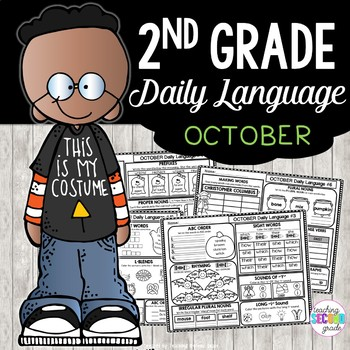 October Morning Work Daily Language for Second Grade