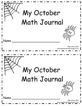 October Daily Math Journal: 2nd Grade Common Core