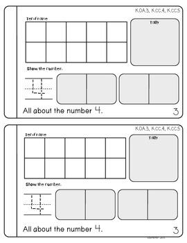 October Daily Math Journal (Common Core Aligned)