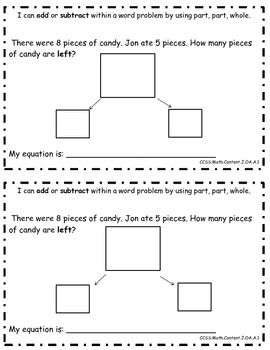 October Daily Math Journal: Word Problems