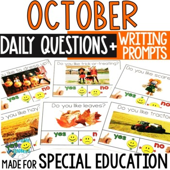 October Daily Question with Writing