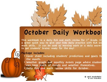 October Daily Morning Work