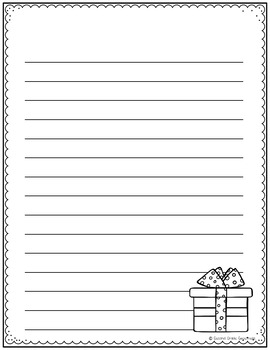 October-December Writing Paper BUNDLE