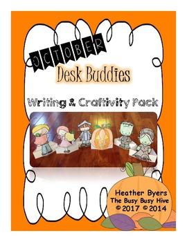 October Desk Buddies {Writing & Craftivity}