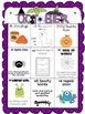 October Differentiated Literacy Center Word Work Menu (Com