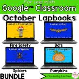 October Digital Interactive Notebook BUNDLE Google Classroom