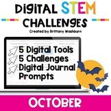 October Digital STEM Challenges™