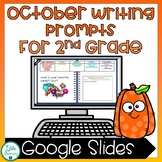 October Digital Writing Prompts: Halloween, Fire Safety, and Fall Themed