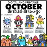 October Directed Drawings {Preloaded to Seesaw and Google Slides}