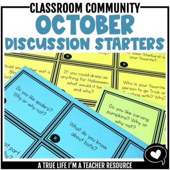 October Discussion Starters