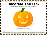 Halloween Pumpkin Do Together Parent/Child Homework Activity