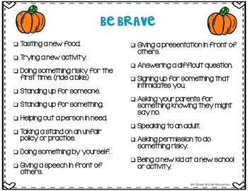 October Door Decor Halloween Bulletin Board for Character Education