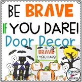 October Door Decor Halloween Bulletin Board for Character