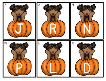 October EDITABLE Letters and Sounds Write the Room Fun-Differentiated