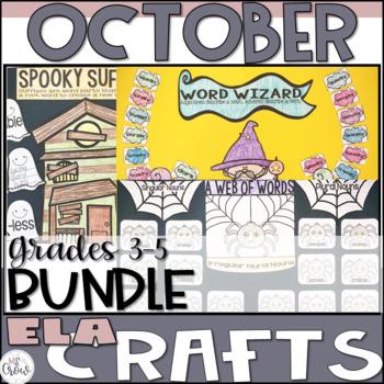 October ELA Craftivity Bundle