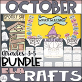 ELA Craftivity Bundle October