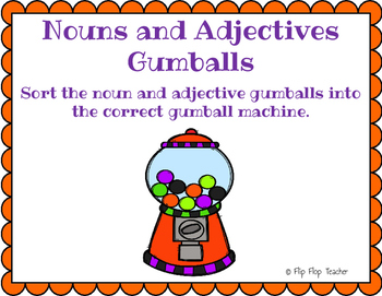 October ELA Games - nouns, verbs, adjectives, synonyms, cause & effect