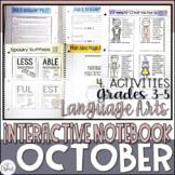 ELA Interactive Notebook October
