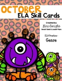 October ELA Skill Cards
