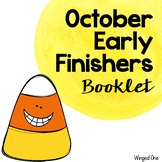 Early Finishers October Booklet