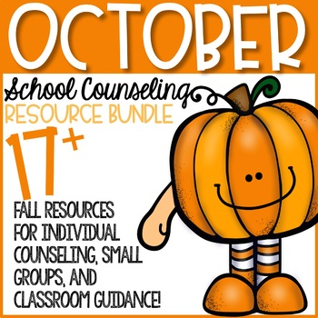 October Elementary School Counseling Resource Bundle
