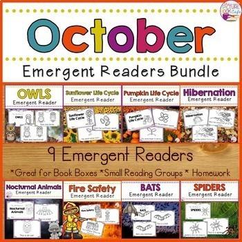 Emergent Readers Bundle (Fall Readers)