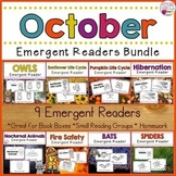 Fall Emergent Readers Bundle