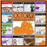 October Emergent Reader MEGA BUNDLE