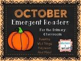 October Emergent Readers