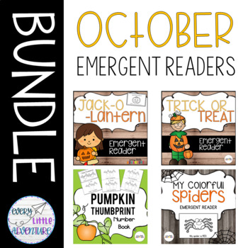 October Emergent Readers - Pre-K