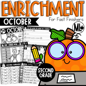 October Enrichment/Early Finishers*SECOND GRADE*