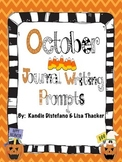 October Everyday Writing Journals Printable