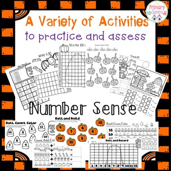 October FAll Math Activities