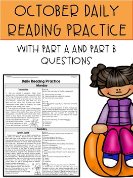 October FSA Style Daily Reading Packet-3 Weeks Only