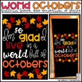 L.M. Montgomery's Quote/Fall Bulletin Board, Door Decor, or Poster