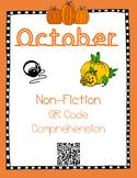 October- Fall & Pumpkins - Non Fiction QR Code Comprehension