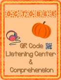 October: Fall QR Code Listening Center w/ Comprehension