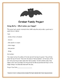 October Family Project- Going Batty(What makes you Happy!)