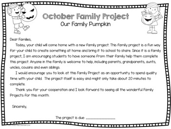 October Family Project: Our Family Pumpkin