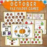 October File Folder Games