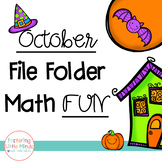 October File Folder Math Fun